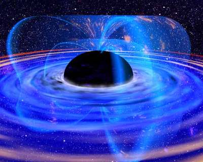 Black Hole (Artist's Impression)